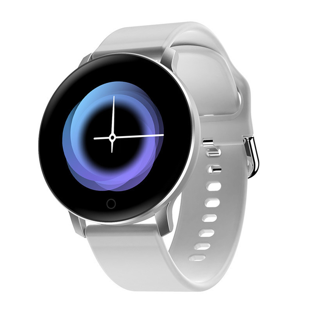 X9 Smart Bracelet IPS High Definition Heart Rate Sleeping Monitor Step Counter Wristwatch white