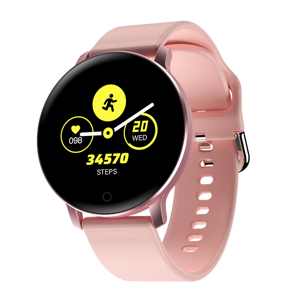 X9 Smart Bracelet IPS High Definition Heart Rate Sleeping Monitor Step Counter Wristwatch Pink