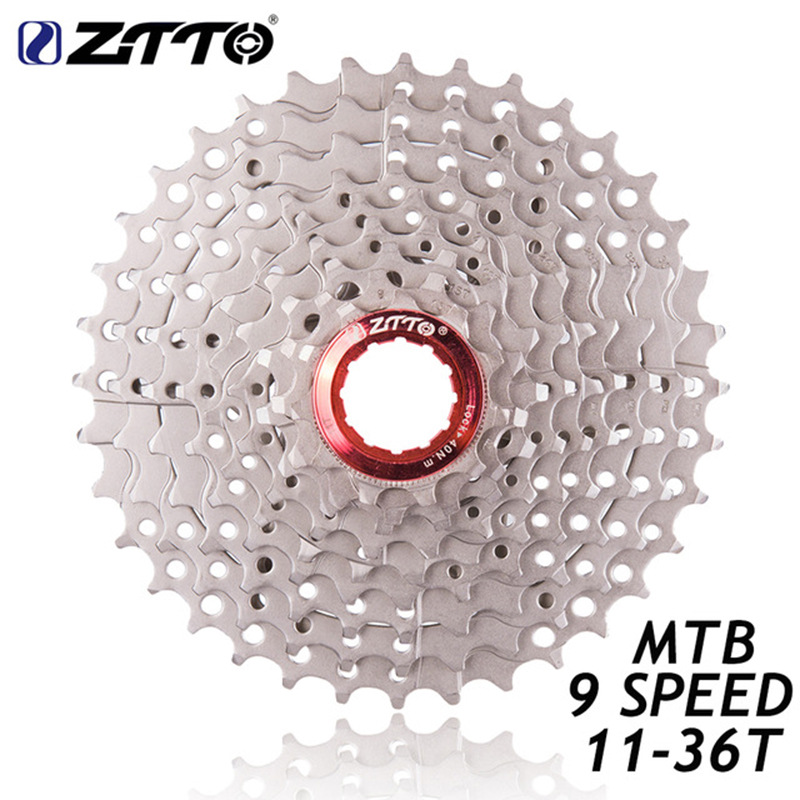 ZTTO MTB Mountain Bicycle Parts 9 s 11T-36T Cassette Freewheels  9S 11-36T
