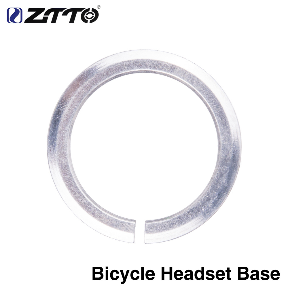 ZTTO Bicycle Front Fork Gasket Headset Base Spacer Diameter for 28.6/39.8mm Fork Bike Headset Straight tube 28.6
