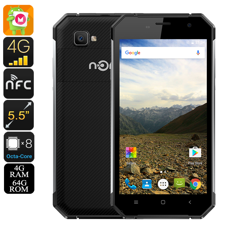 Nomu S30 Rugged Smartphone (Silver)