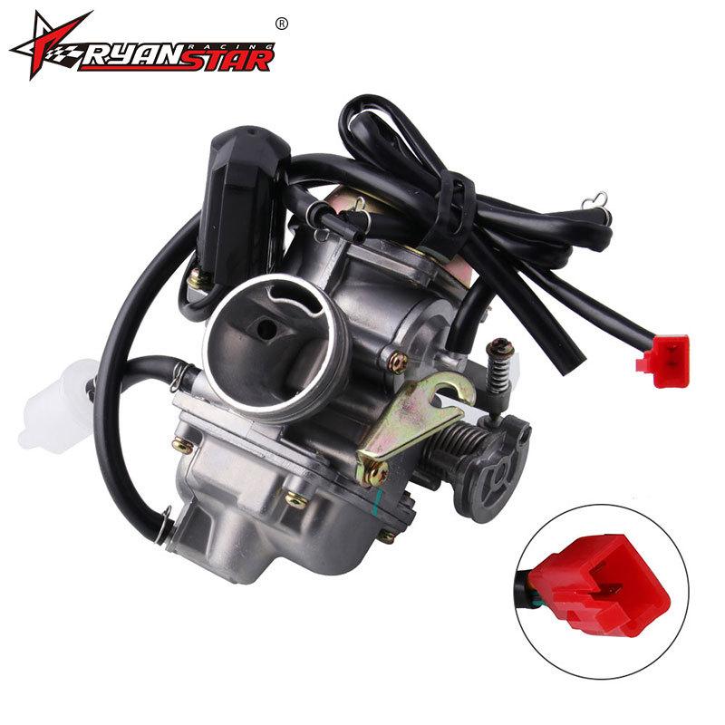 Carburetor Set Motorcycle 50cc Scooter Gy6 Four Stroke Jet Engine Upgrading Carburetor MB-FP016