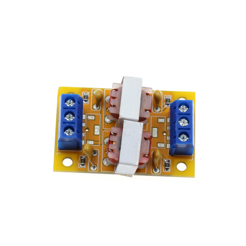 Stereo Audio  Isolator Common Ground Anti-interference Signal Noise Filter Computer Audio Current Sound Canceller 29322 As shown