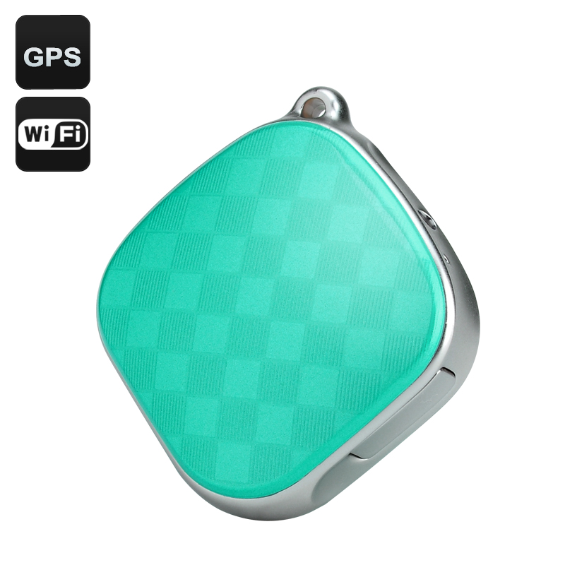 GPS Tracker + Locator (Green)