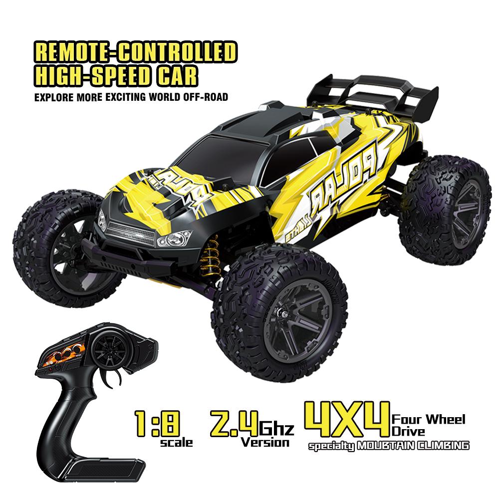 Hs10422 1/8 Rc Car 2.4g 7.4v 1500mah Full Proportional Control Big Foot High Speed 45km/h Rc  Models 1 battery