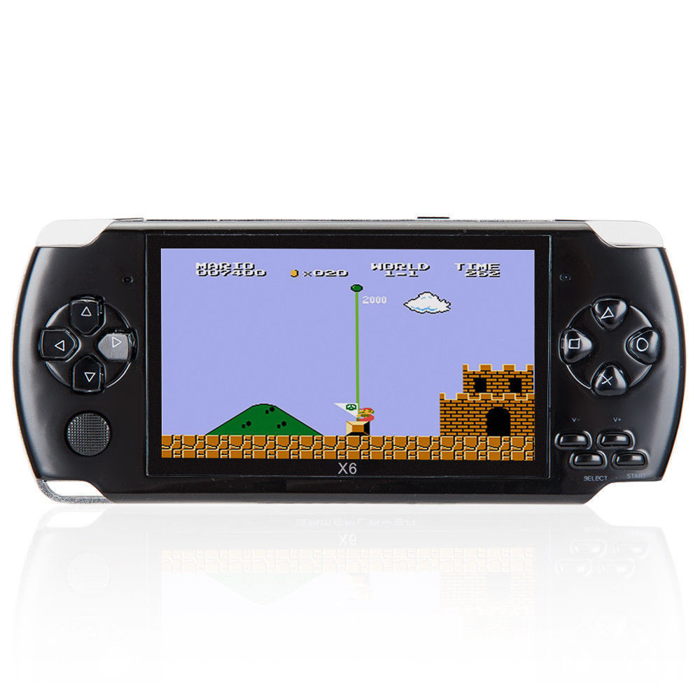 8GB 4.3 Inch Handheld Game Console
