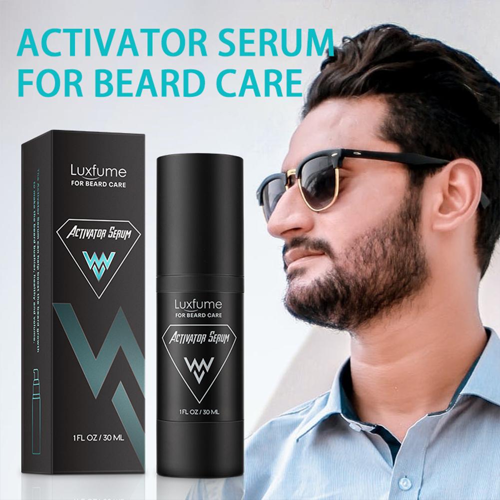 Beard  Essence Nourishing Care Beard Nutrition Liquid Activator Serum Beard Care 30ml