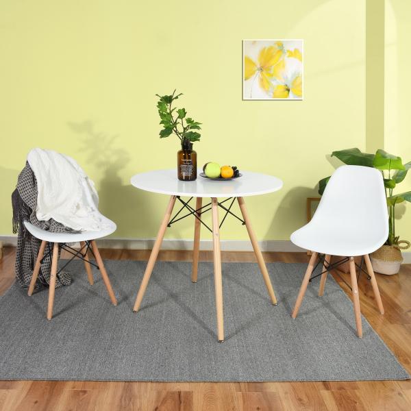 [US Direct] Saleh 31.5'' Pedestal Dining Table