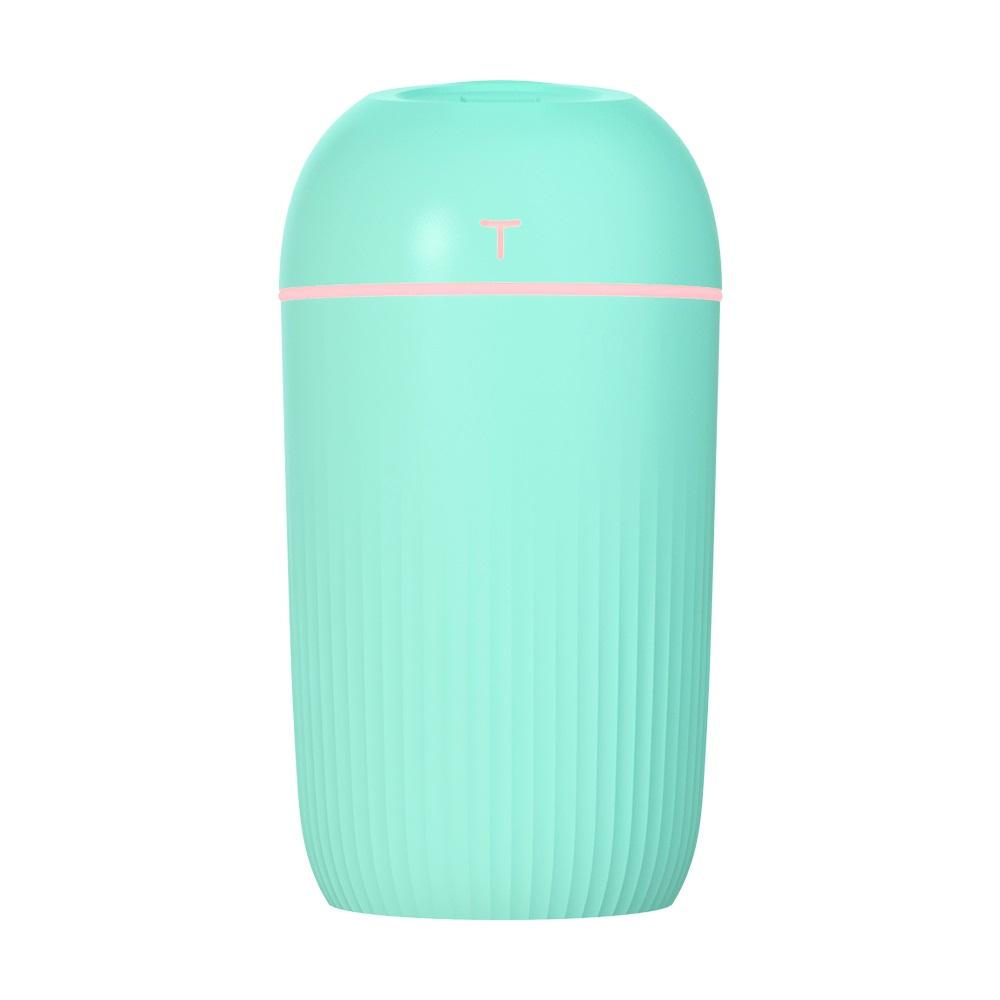 Mini-USB Humidifier Ultrasonic Portable Aroma Diffuser Household Items green