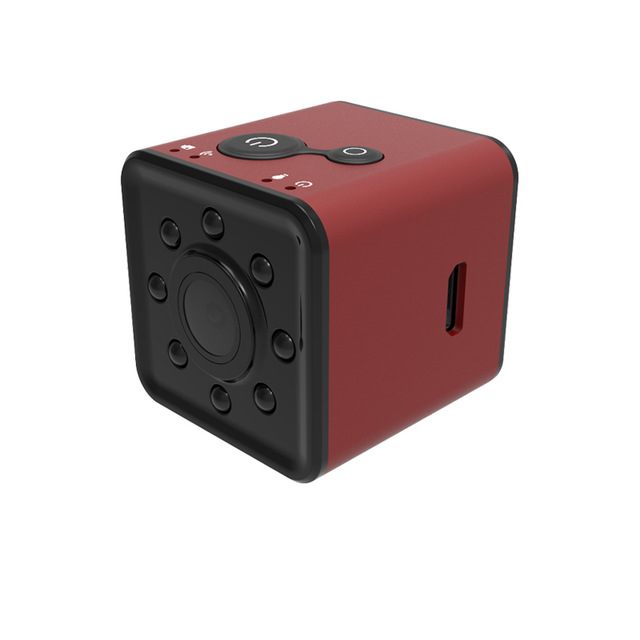 Mini WIFI Camera HD 1080P Waterproof Shell CMOS Sensor Night Vision Recorder Camcorder  red