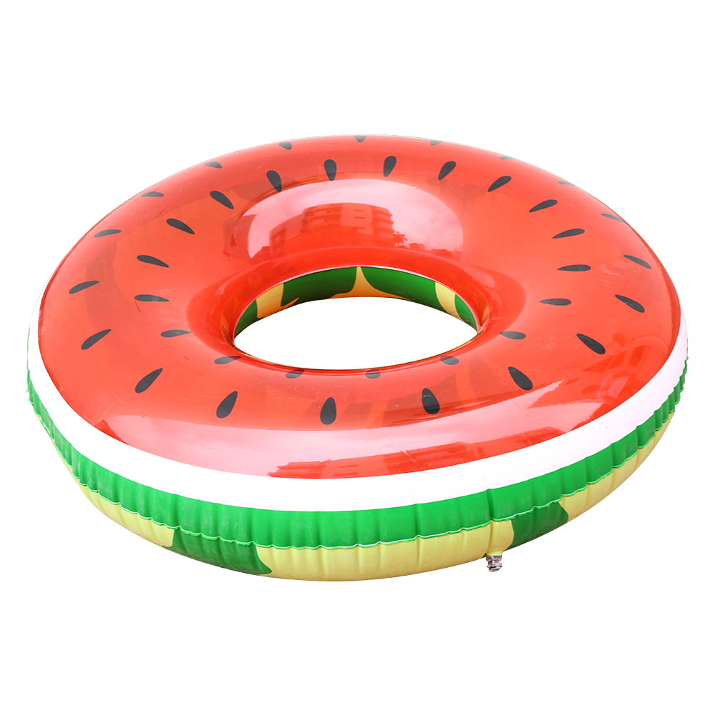 [US Direct] Giant Inflatable Watermelon Pool Float Swimming Buoy Raft Toy for Kids and Adults