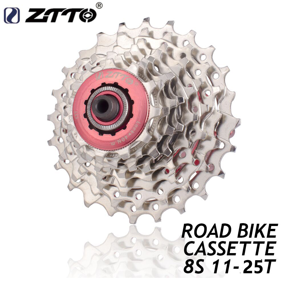 ZTTO 8 Speed 11-25T Road Bike Cassette Wide Ratio Bicycle Freewheel Sprocket ZTTO 8 Speed 11-24T / 11-25T Road Bicycle flywheel 8S 11-25T
