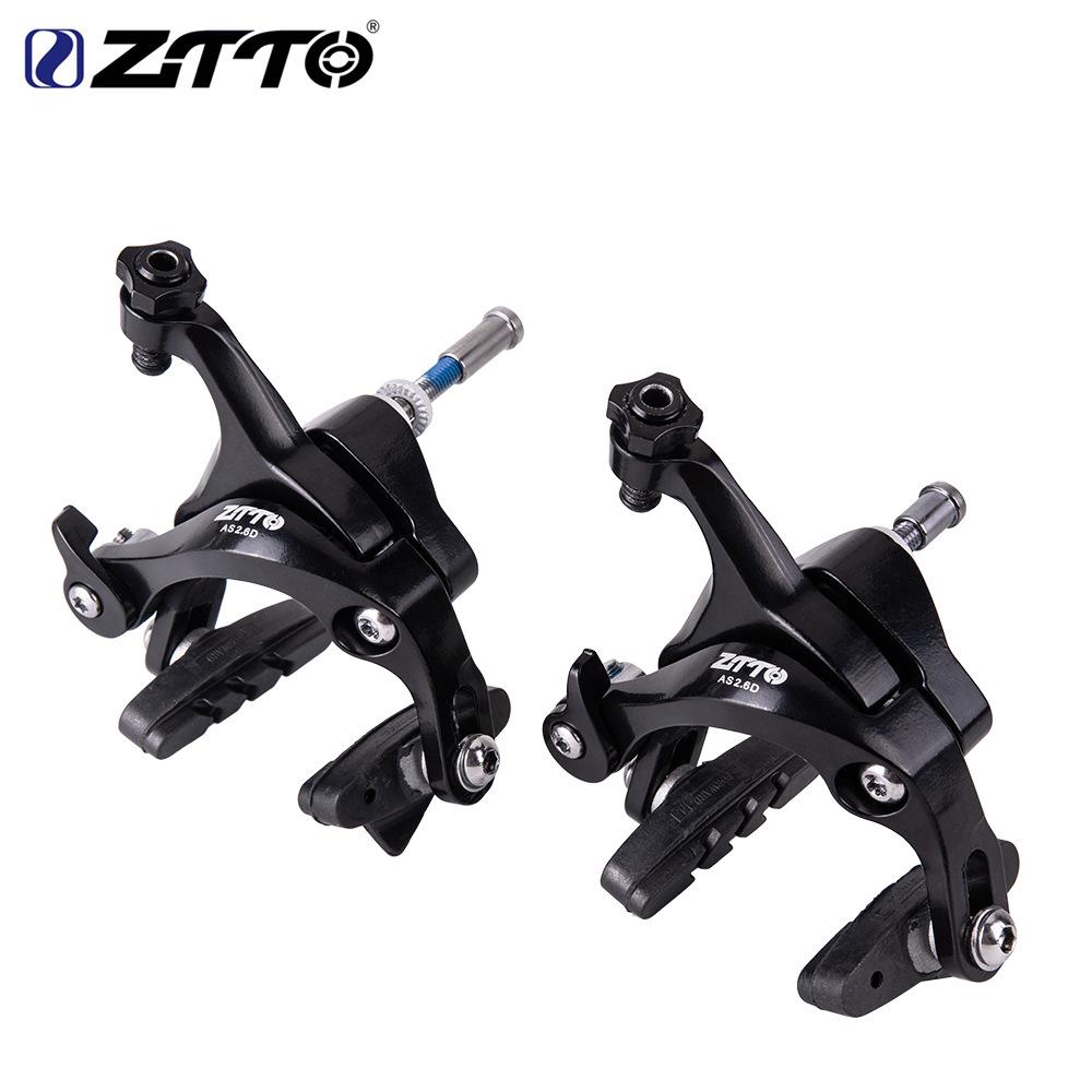 1 Pair ZTTO Bicycle Caliper Brake Handles V-type Aluminum Alloy Clamp MTB Road Bike Parts a pair of brake handles