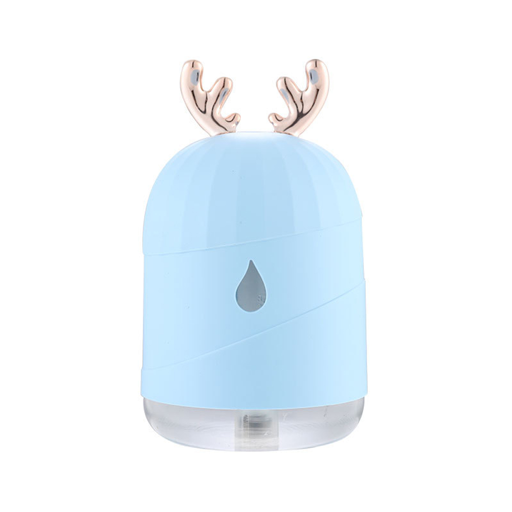 Humidifier Usb Mini Mute Bedroom Car Spray Water Replenisher blue_Normal specifications