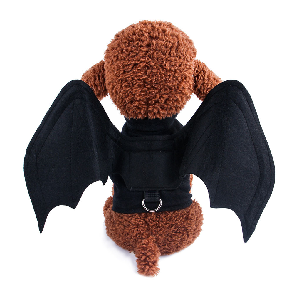 Dog Clothes Halloween Bat Wings Costume for Pets Cosplay Bat loading_M
