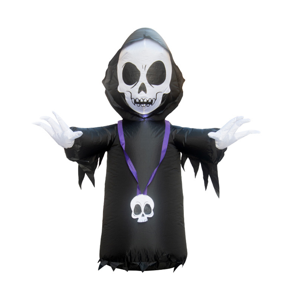 1.2m Inflatable Ghost Modeling Props for Outdoor Garden Mall Hotel Halloween Spirit Festival Decoration U.S. regulations