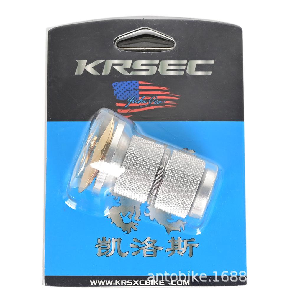 Bike Headset Stem Top Cap Compression plug Nut Compressor Expansion golden_Card