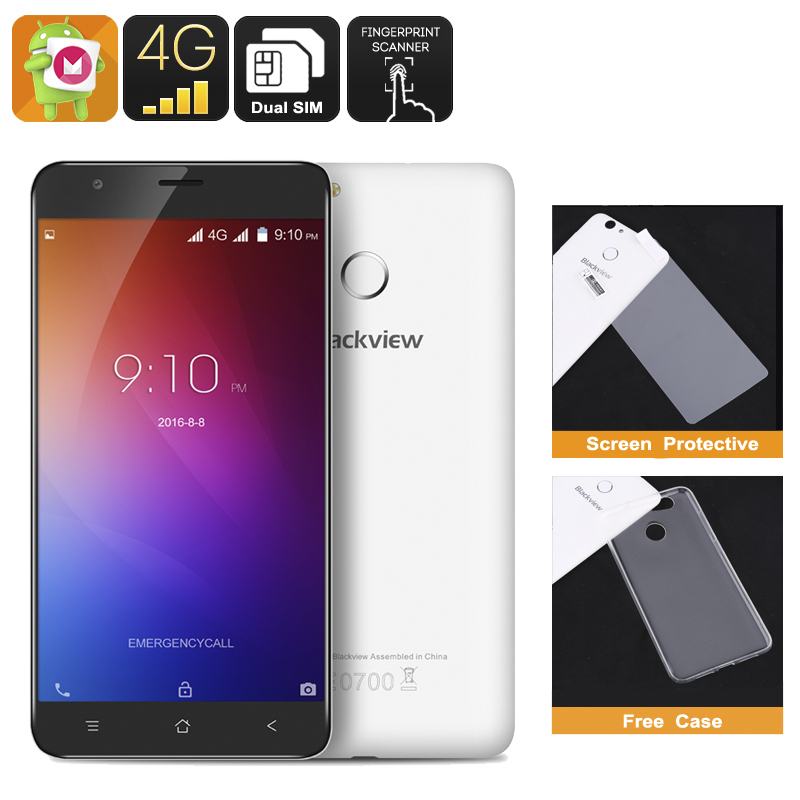 Blackview E7 Smartphone (white)