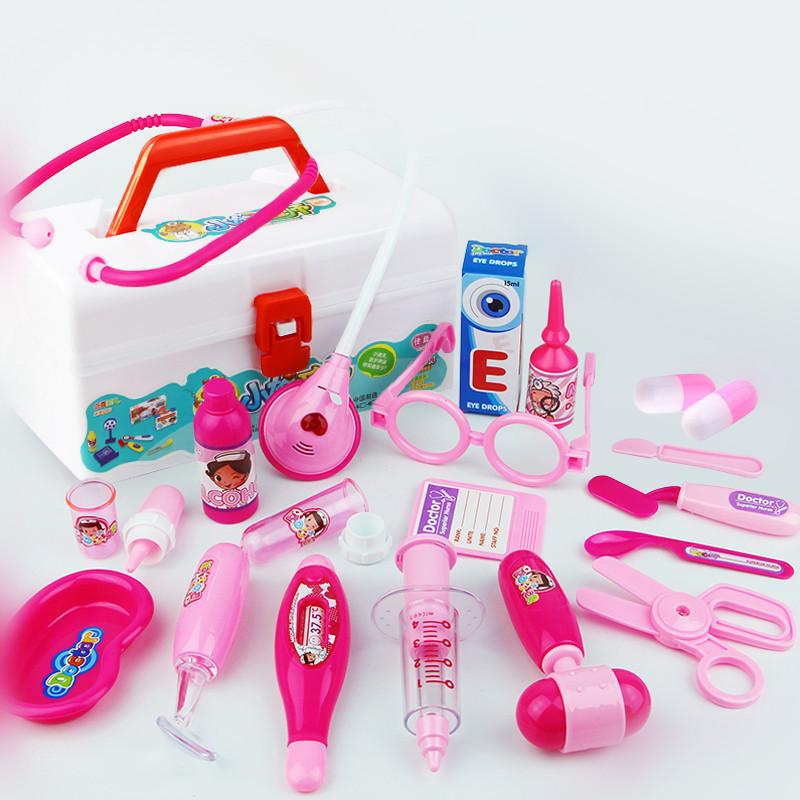 Children Simulation Doctor Medicine Appliance Kit Pretend Play Toy Set