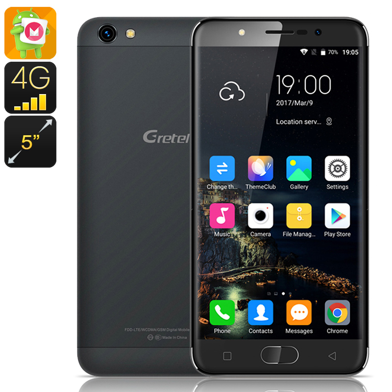 Gretel A9 Android Phone (Black)