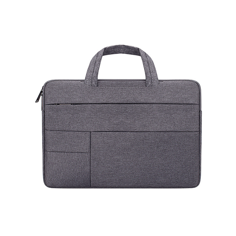 Simple Laptop Case Bag for Macbook Air 11.6 inches, 12.5 inches, 13.3 inches, 14.1 inches Notebook Handbag  Deep gray_14.1 inch