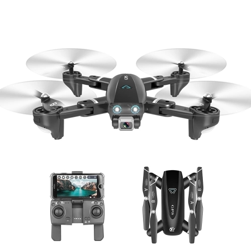 CSJ S167 GPS 2.4G WIFI FPV Drone with 4K Camera 2 battery