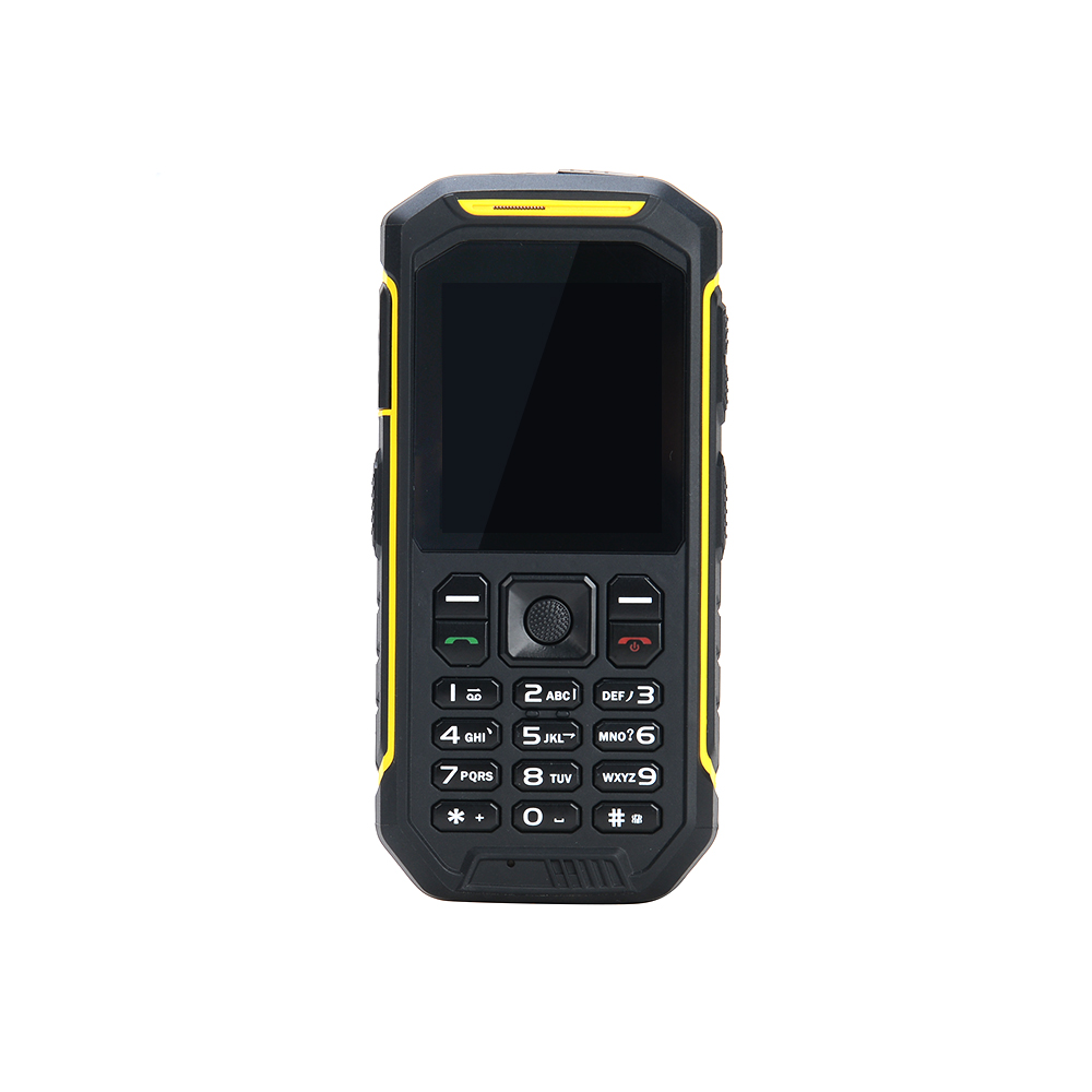 X6 Walkie Talkie Rugged phone Yellow