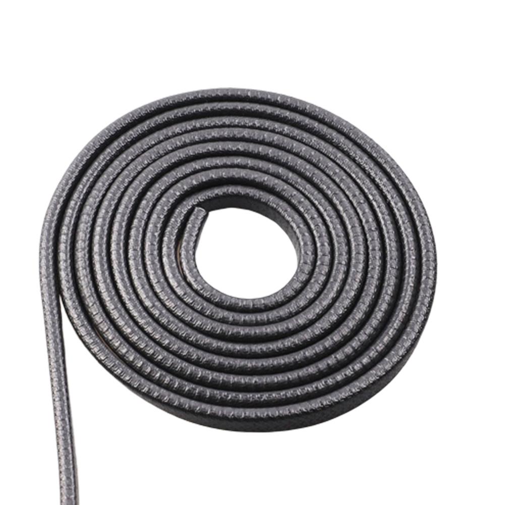 5m Universal Car Anti-collision Strip Door Edge Seal Invisible Anti-scratch Strip Body Rubbing Strip Protection Black 5 meters