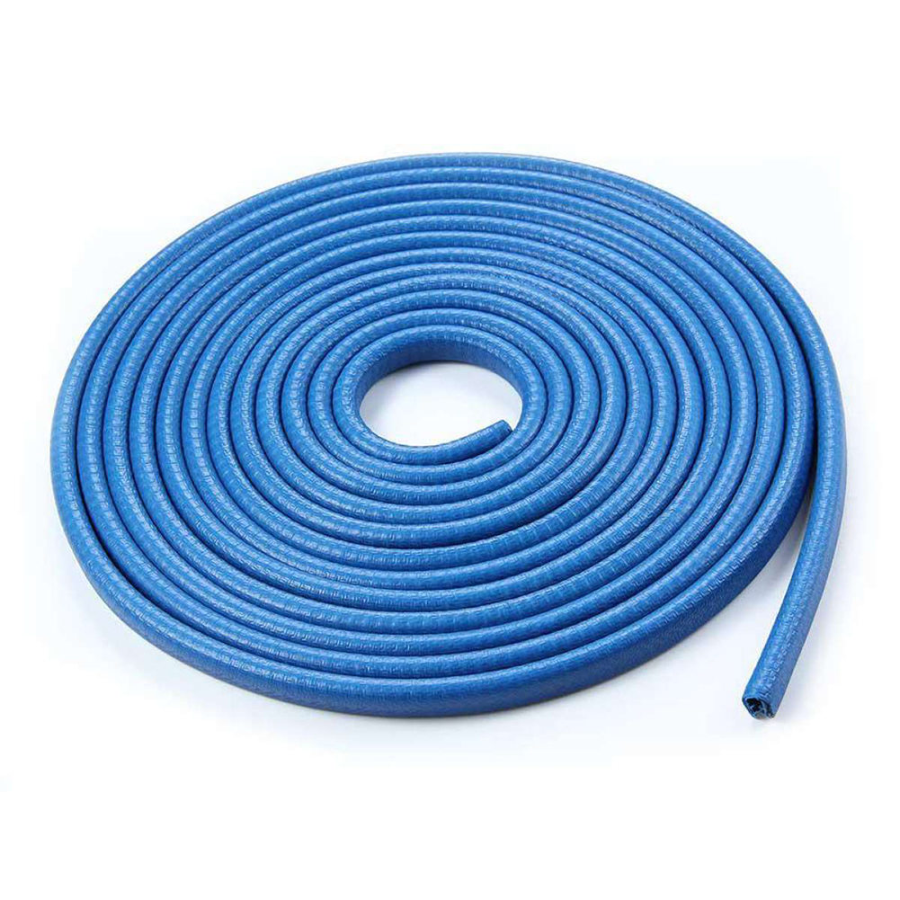 Universal Car Door Edge Scratch Protector 10M Strip Sealing Guard Trim Automobile Door Stickers Blue 10 meters