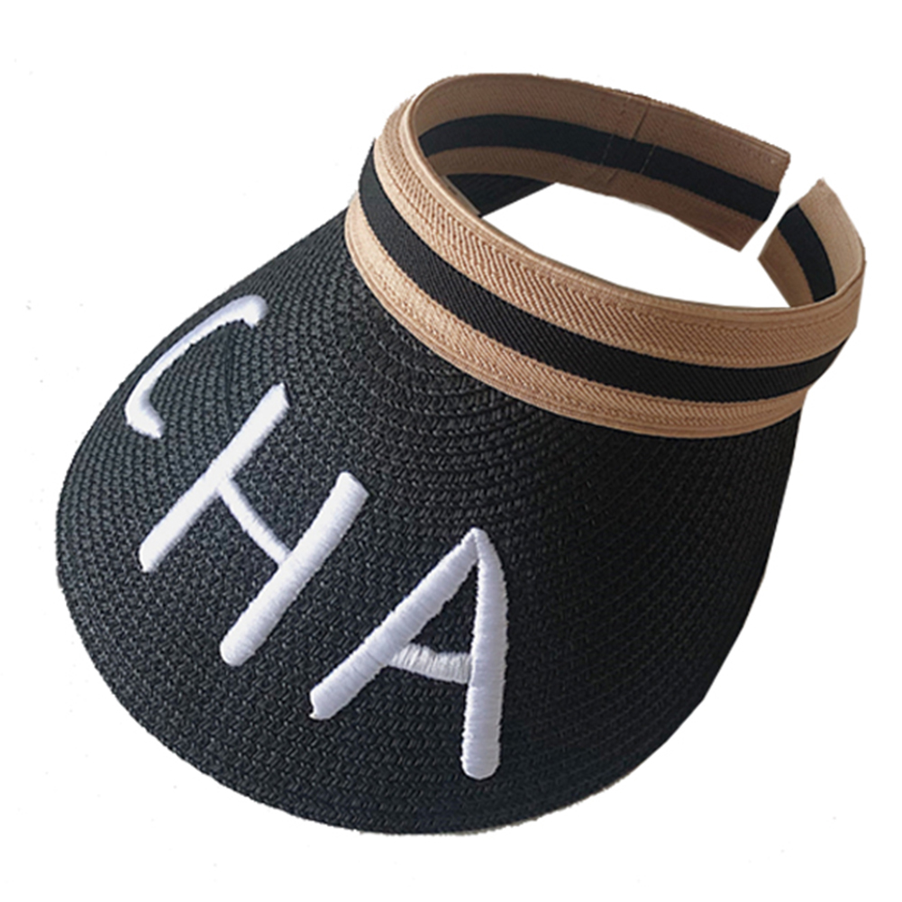 Fashion Embroidered Hollow Top Hat Summer Casual Beach Straw Sun Hat