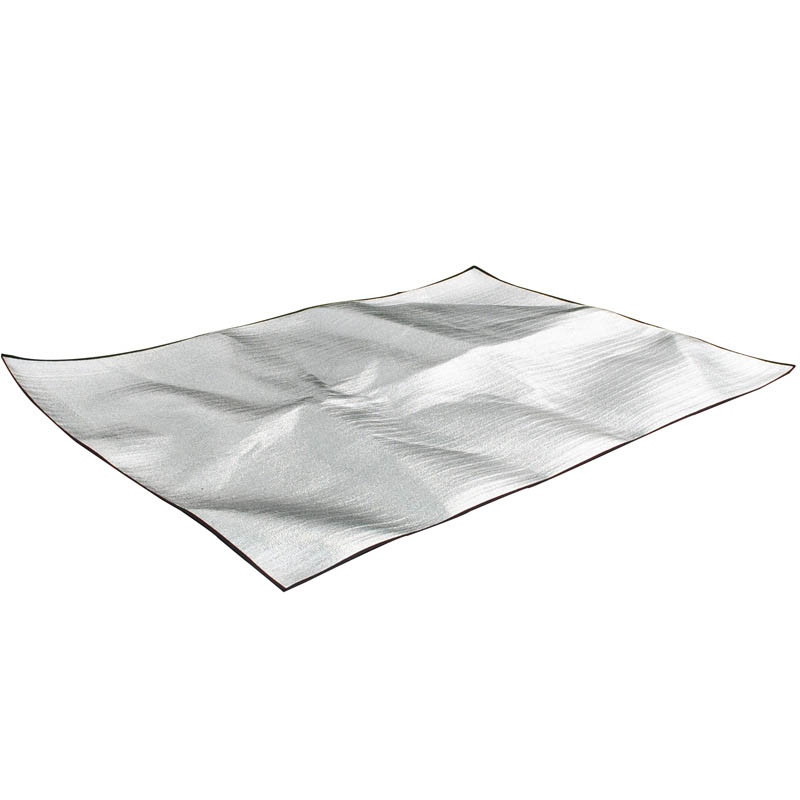 Outdoor Camping Mat Tent Ultralight Aluminum Foil Foam Dampproof Waterproof Picnic Mats Blanket 2m*2m*0.25 double-sided aluminum foil