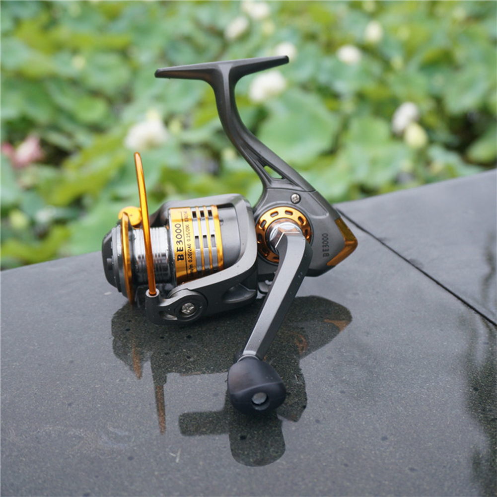 Full Metal Fishing Reel Spinning Wheel for Boat Ocean Fishing Right/Left Hand BE1000