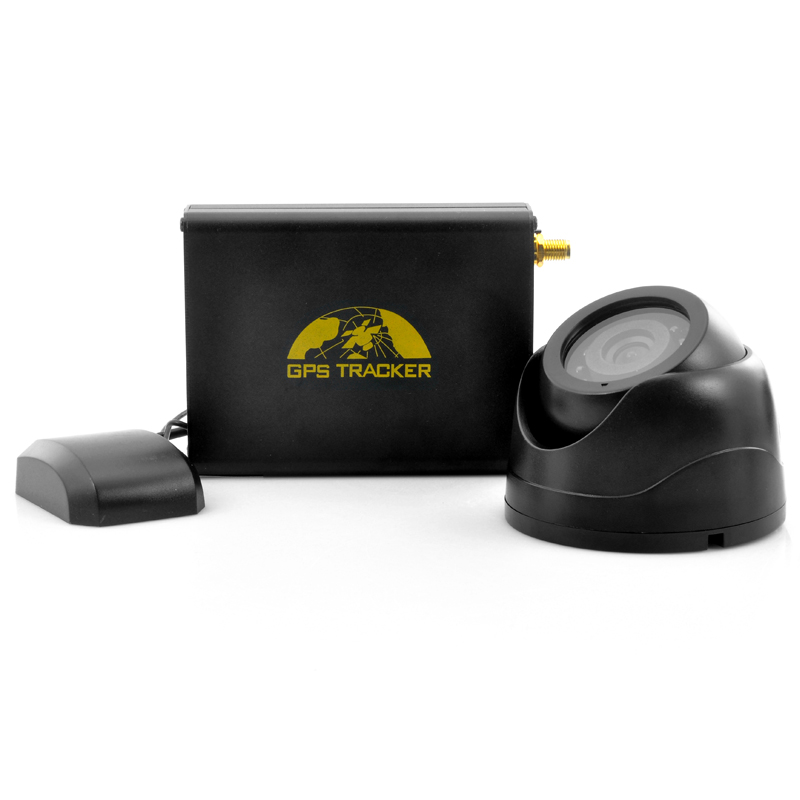 Car GPS Tracker + Car Alarm & Camera