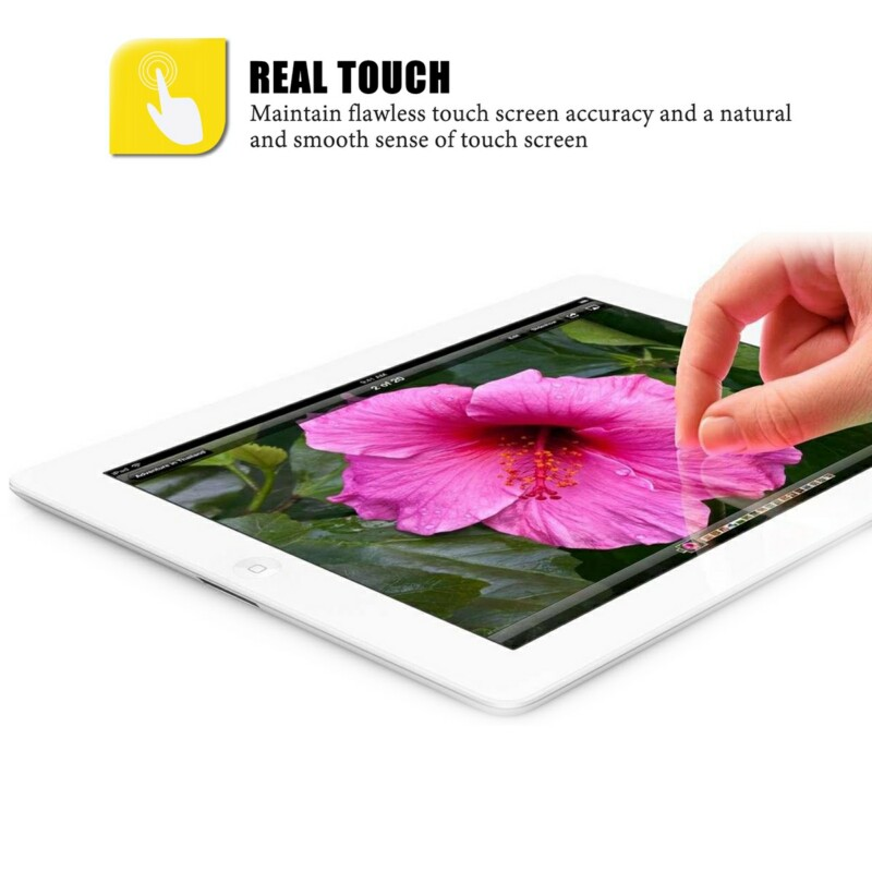[US Direct] LENTION Anti-Glare AR Crystal Protective Film Screen Protector for Tablet, Compatible with iPad Air/Air2/iPad Pro 9.7 inch AR