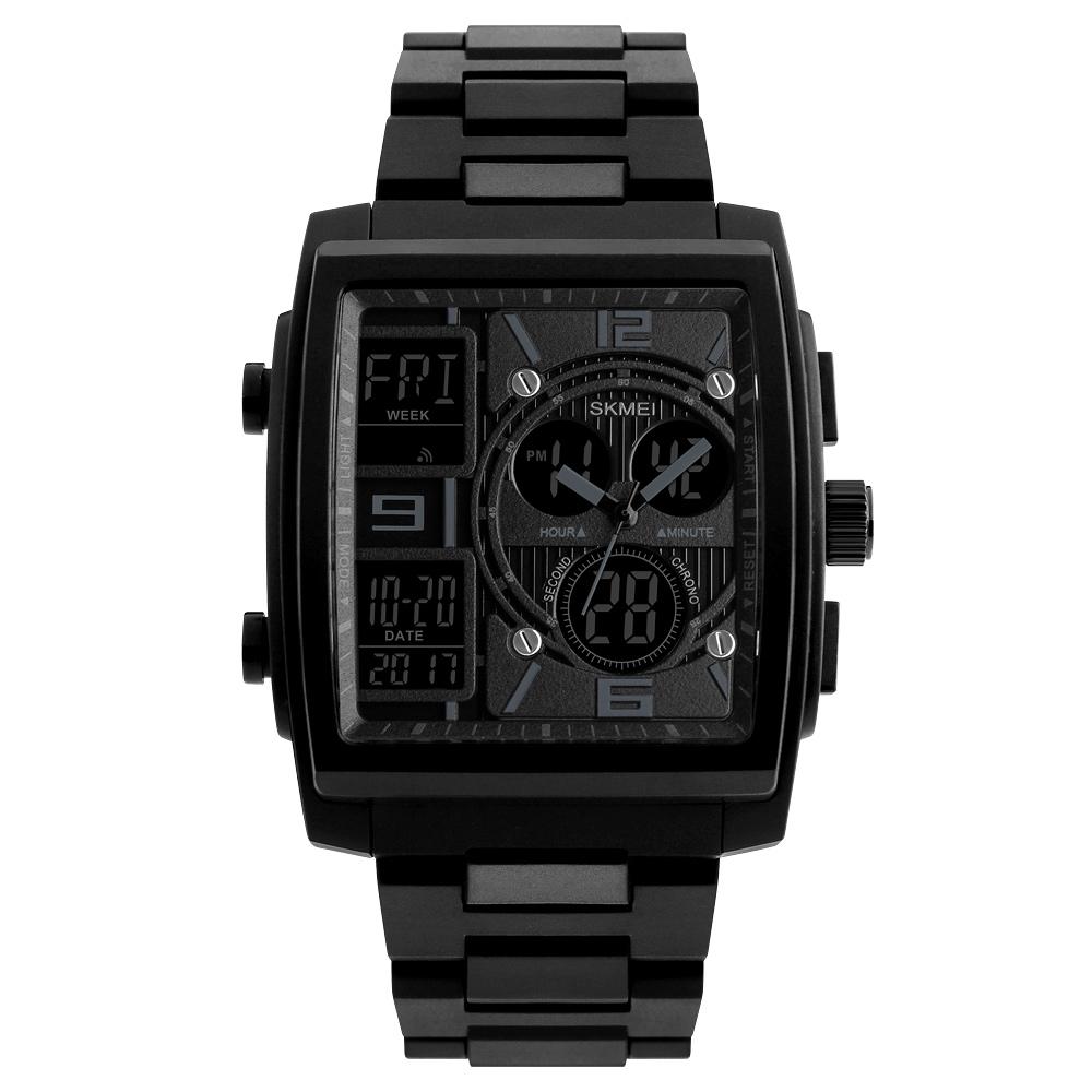 1274 Men's Wrist Watch Multi-function Outdoor Sports Digital Watch black