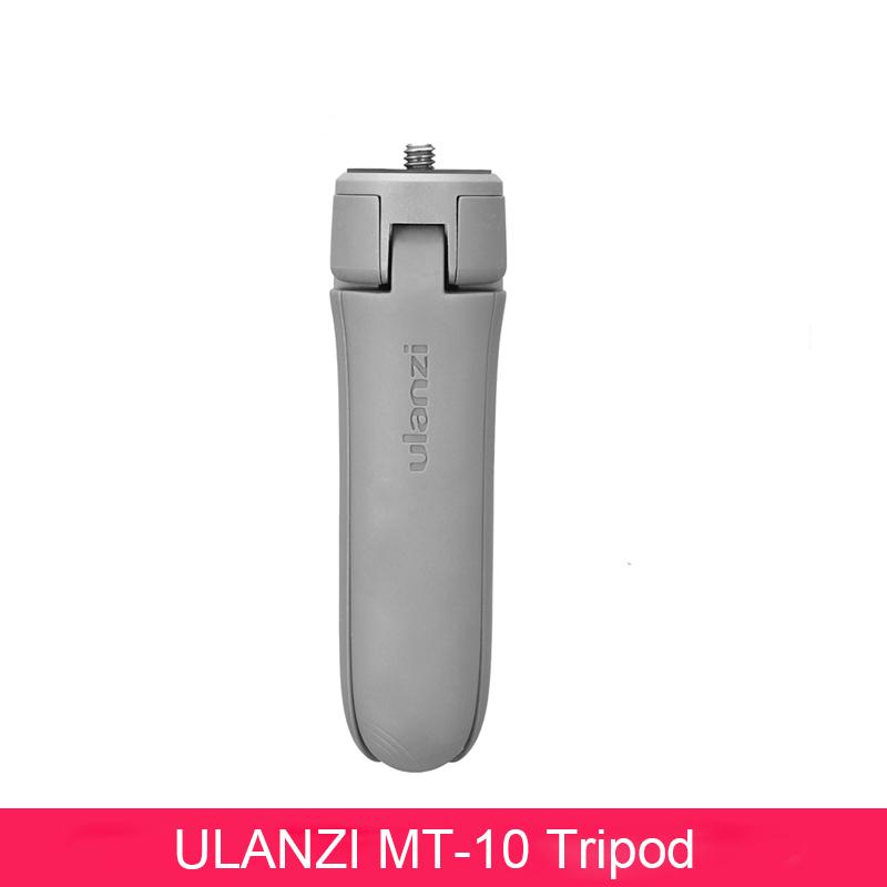 MT-10 Mini Tripod Gimbal Base for Osmo Mobile 2 3 Vlog Tripod for Smartphone DSLR SLR Camera gray