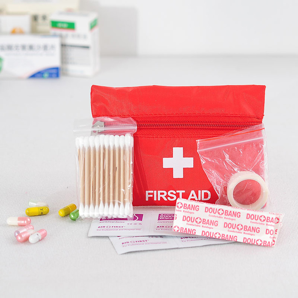 Protable First-aid Bag Mini Medical Kit Emergency Outdoor Travel Home First Aid Kit First aid kit set
