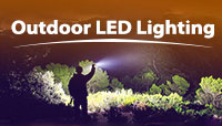 Outdoor LED Lighting Flashlight