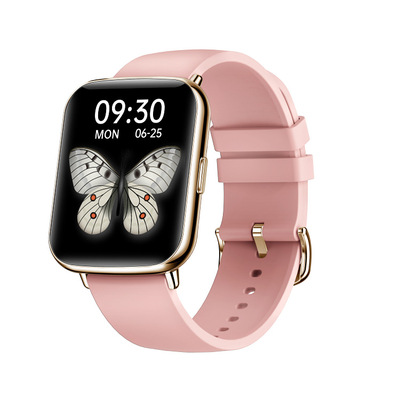 X27 Smart  Watch With 1.7-inch Color Large Screen Various Exquisite Dials 24h Dynamic Heart Rate Ip68 Golden