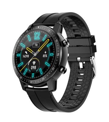 Unisex Smart  Watch S30 Sleep Activity Monitor Call Sms Alerts 360mah Smartwatch Sports Watch black