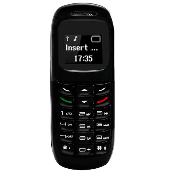 L8star 2G GSM Bm70 Mini Mobile Phone Wireless Bluetooth Earphone Cellphone Stereo Headset Unlocked GTSTAR Small Phone black