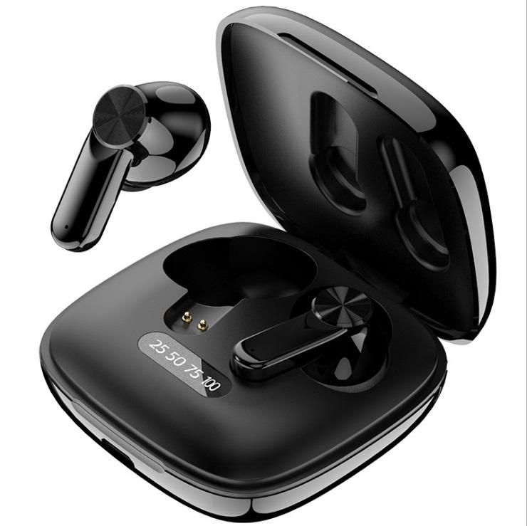 Xg31 Wireless Bluetooth  Headset With 300mah Charging Case Long Battery Life Earphones black