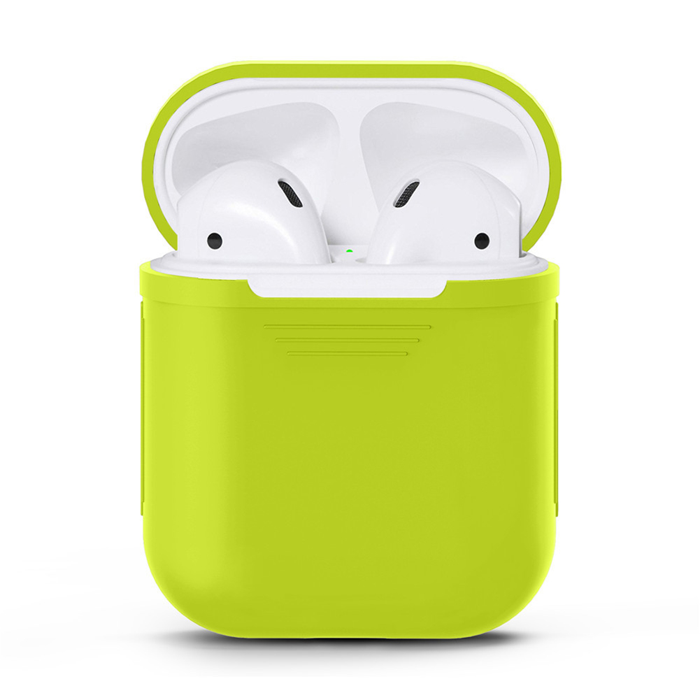 Full Protective Case for Apple Airpods Green