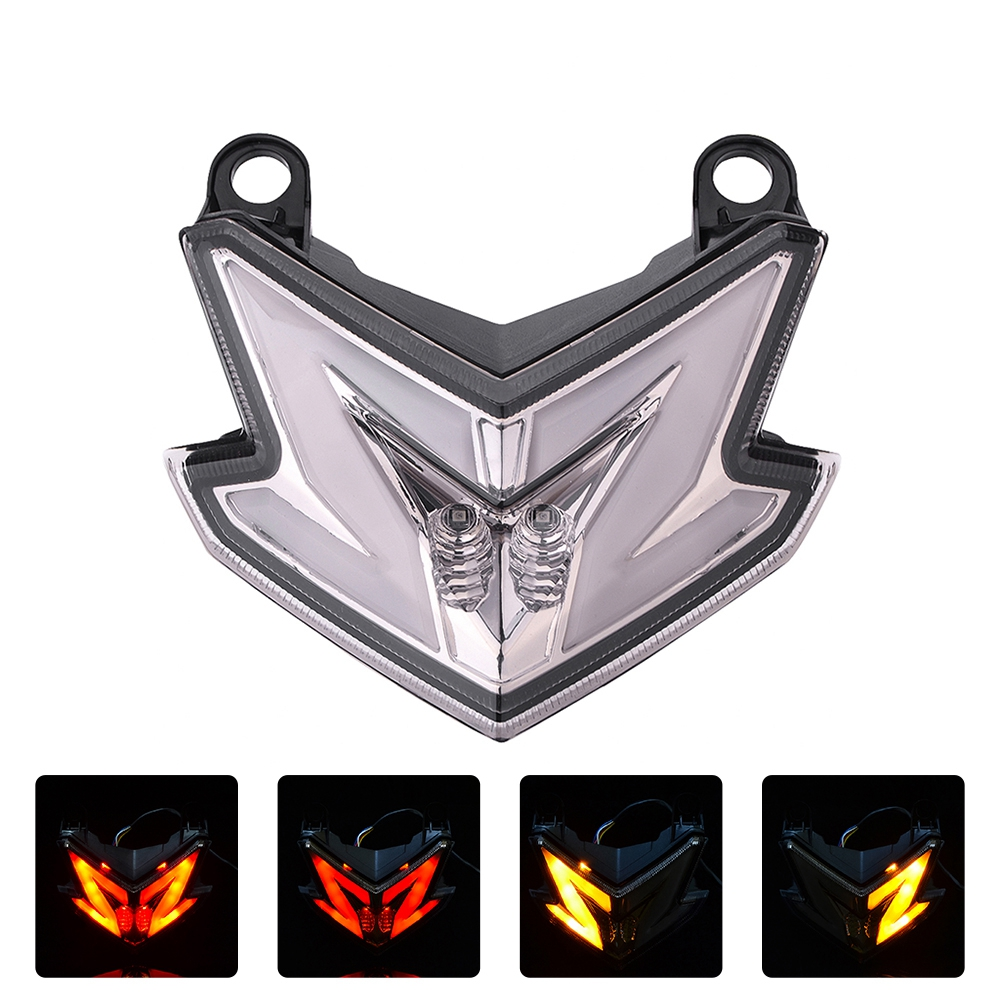 Motorcycle Tail Light Integrated Turn Signal Light for Kawasaki Z800 ZX6R 636 Z125 PRO 2013-2018