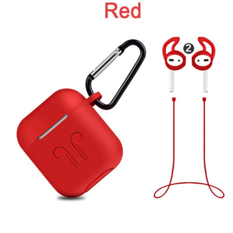 Cover Case +Hook + Earphone Strap + Ear Tips