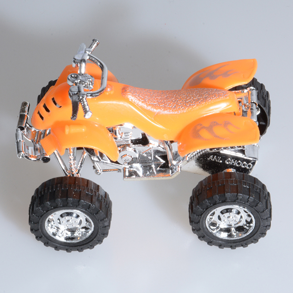 Plastic Pullback Dune Buggy Racing Motorcycle Motorbike Racer Vehicle Toy for Kids Children