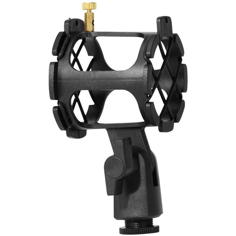 Mic Shock Mount Universal Microphone Suspension Shock Mount Condenser Holder Studio Sound Recording Stand black