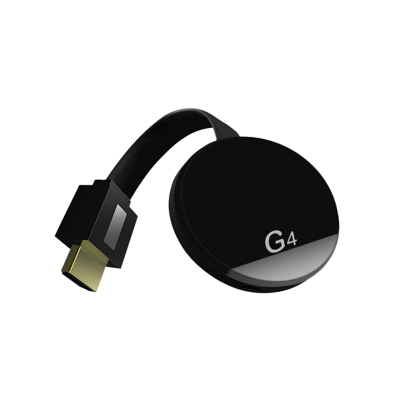 For Google Chromecast 2/3/2018 Android Netflix YouTube Cromecast Miracast WiFi HDMI Dongle Receiver Mirascreen G4 Media Streamer black