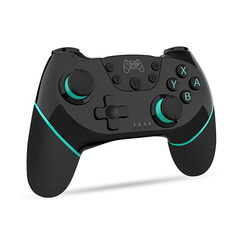 Wireless-bluetooth Gamepad Game Joystick Controller For Switch black