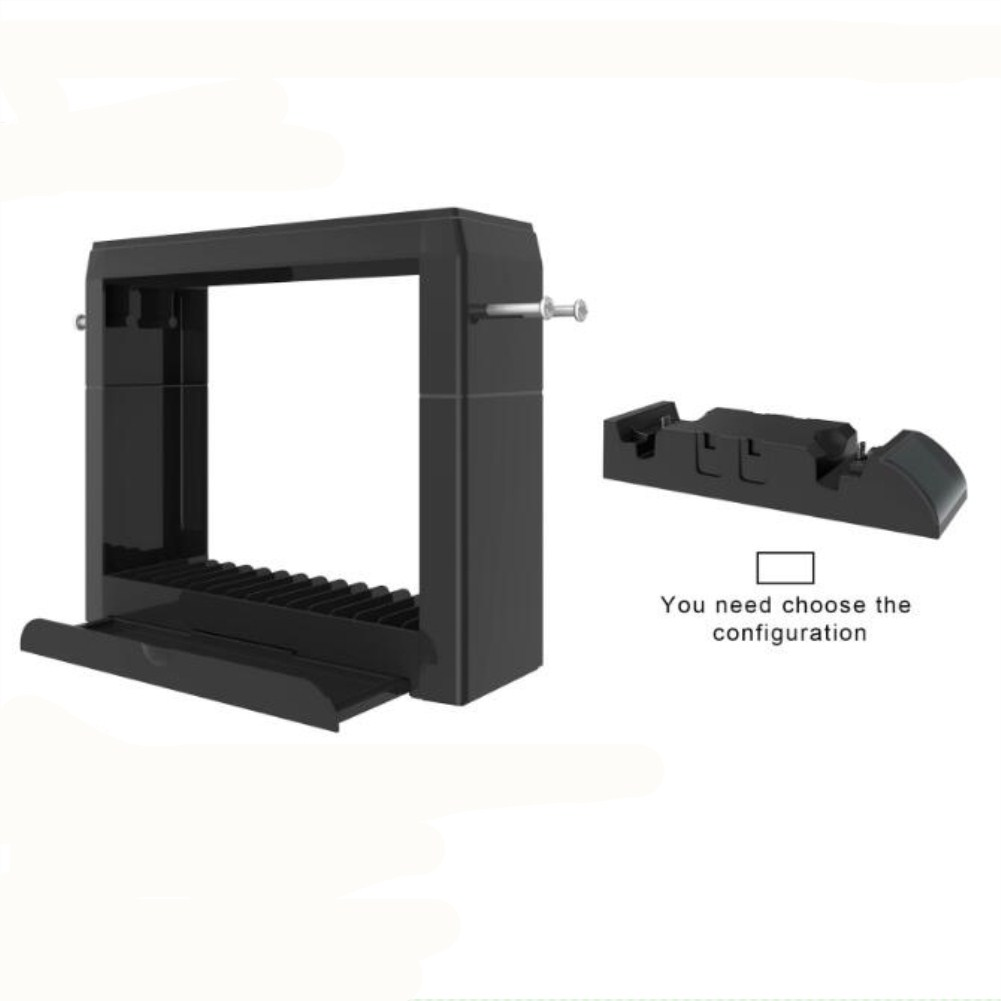 Multi-Function Charging Dock for Nintendo Switch Storage Bracket with Fast Charger black